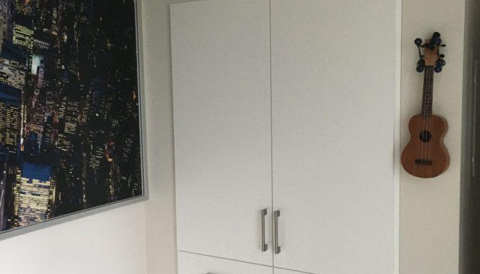 custom built closet